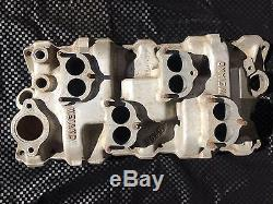 WEIAND WC4D 4x2 Intake Manifold Small Block Chevy 283 327 350 Stromberg 97 81