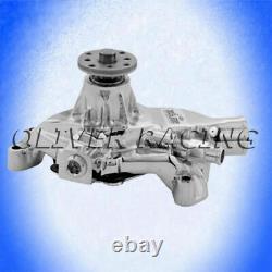 Wasserpumpe CHROM Chevrolet Corvette C2 C3 5,0L 5,7L 305 350 Chevy small block