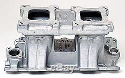 Weiand 1984WND Hi-Ram Tunnel Ram Intake Manifold 1957-86 Small Block Chevy
