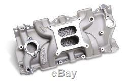 Weiand 8120WND STREET WARRIOR Aluminum Intake Manifold Small Block Chevy V8