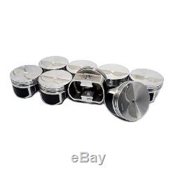 Wiseco PTS510A3 Pro Tru Pistons Small Block Chevy 400 2V Flat Top. 30 Over Bore