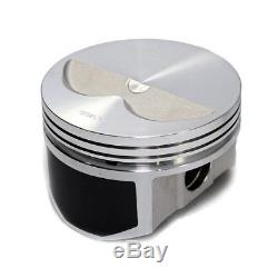 Wiseco PTS510A4 Pro Tru Pistons Small Block Chevy 400 2V Flat Top. 40 Over Bore