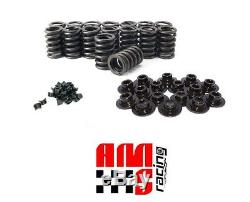 Z28 Valve Springs Kit with Steel Retainers HD Locks for Chevrolet SBC 327 350 400